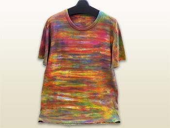 手染めTシャツ